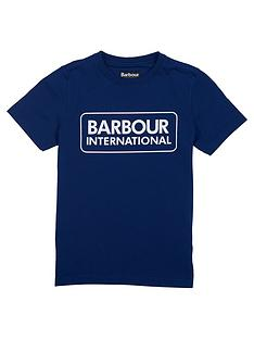 barbour-international-boys-essential-logo-t-shirt-inky-blue