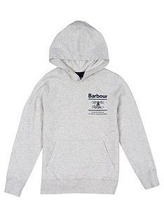 barbour-boys-reed-logo-hoodie-ecru-marl