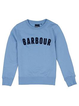 barbour-boys-prep-logo-crew-sweat-powder-blue
