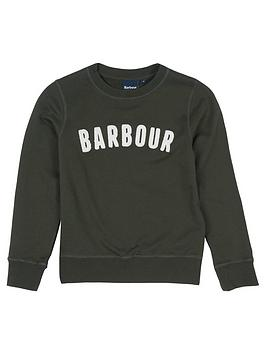 barbour-boys-prep-logo-crew-sweat-forest