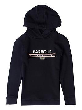 barbour-international-girls-grounding-hoodie-black