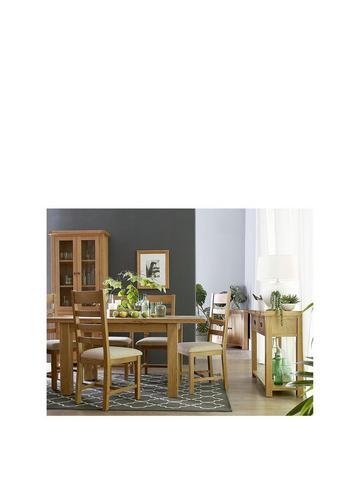 Wood Veneer Dining Table Chair Sets Home Garden Www Littlewoods Com