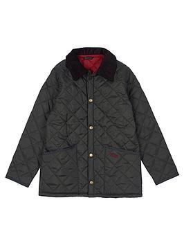 barbour-boysnbspliddesdale-quilt-jacket-olive