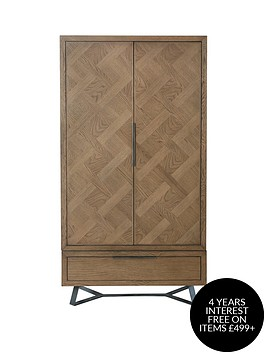 k-interiors-regis-part-assemblednbsp2-door-1-drawer-wardrobe