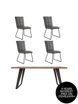 k-interiors-regis-140-cmnbspdining-table-nbsp4-chairs
