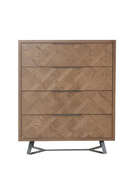 k-interiors-regis-ready-assembled-4-drawer-chest