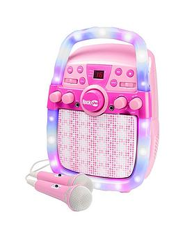 rockjam-rockjam-cd-bluetooth-karaoke-machine-with-two-microphones-echo-control-led-light-show