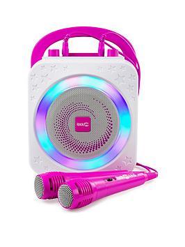 rockjam-the-rockjam-rechargeable-party-karaoke-machine-with-bluetooth-10watt-speaker-two-microphones