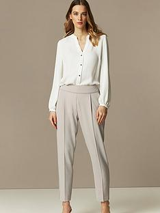 wallis-pull-on-trouser-grey