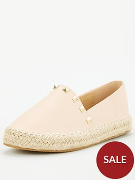 v-by-very-studded-flat-espadrille-nude