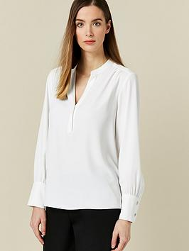wallis-plain-cuff-top-cream