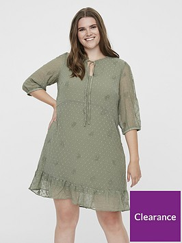 junarose-amana-printed-tea-dress-sage-green