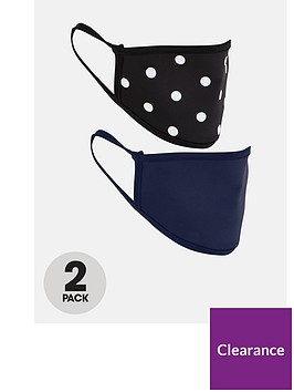 v-by-very-2-pack-adult-fabric-face-coverings-spot-printnavy