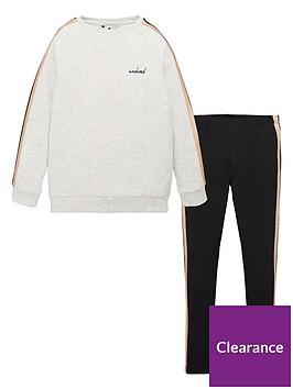 v-by-very-girls-longline-side-stripe-sweat-and-legging-set-multi