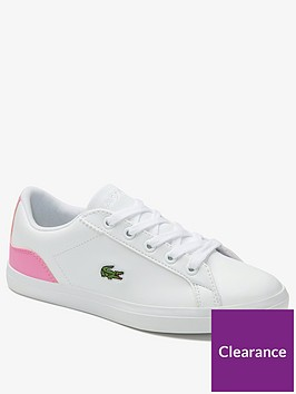 lacoste-girls-lerond-0120-trainer-white-pink