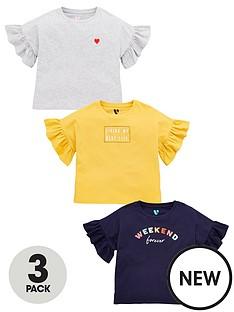 v-by-very-girls-3-pack-slogan-frill-t-shirts-multi