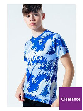 hype-digital-camo-short-sleeve-t-shirt-bluenbsp