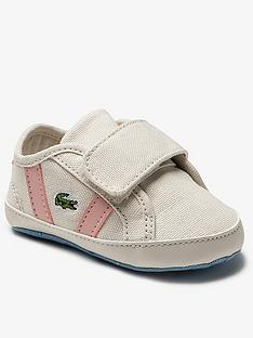 lacoste-infantnbspgirls-sideline-0120-crib-white-pink