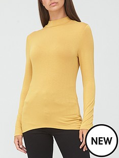 v-by-very-long-sleeve-turtle-neck-tee-mustard