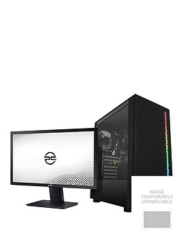 pc-specialist-fusion-e-amd-athlonnbsp8gb-ram-128gb-ssd-amp-1tb-hdd-integrated-vega-graphics-gaming-pc-with-24nbspinch-full-hd-samsung-monitor
