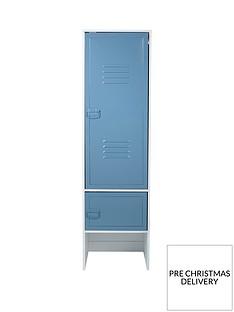 lloyd-pascal-edison-metal-lockernbsp2-door-wardrobe--nbspblue