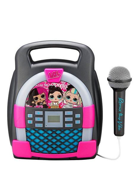 ekids-lol-surprise-bluetooth-mp3-karaoke-machine