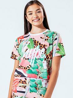 hype-cherry-jaguar-crop-short-sleeve-t-shirt-leopardnbsp