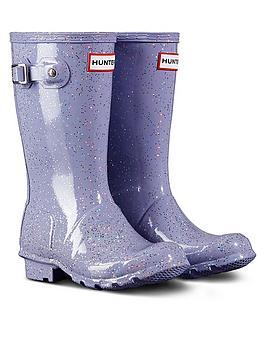hunter-kids-original-glitter-wellington-boots-purple