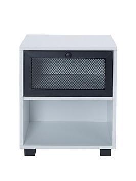 lloyd-pascal-toby-locker-stylenbsp1-drawer-bedside-table