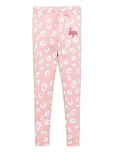 hype-girlsnbspleopard-skinny-jogger-pink
