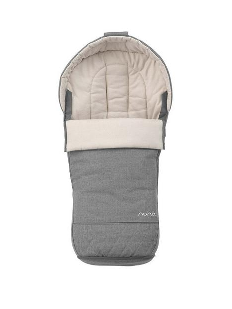 nuna-winter-footmuff-granite