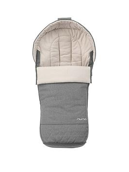 nuna-winter-footmuff-granite