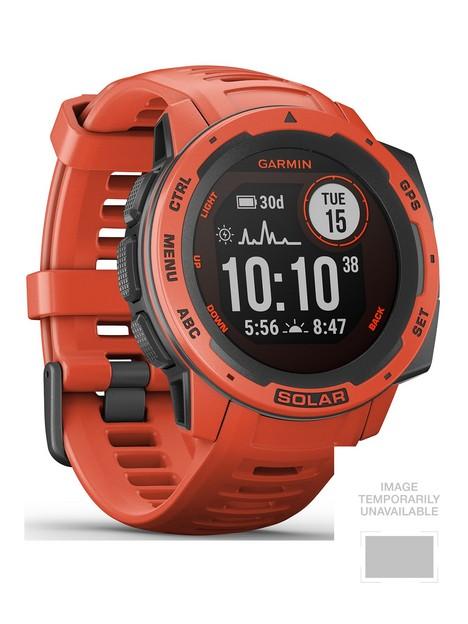 garmin-instinct-solar-gps-watch-flame-red