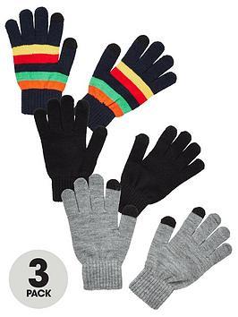 v-by-very-unisex-3-pack-magic-gloves-multi