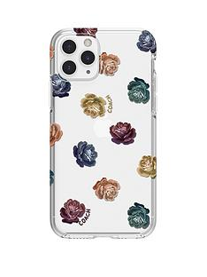 coach-protective-case-for-iphone-11-pro-dreamy-peony-clearrainbowglitter