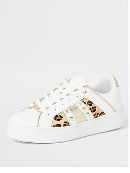 river-island-leopard-stud-lace-up-trainers-white