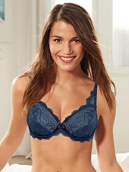 playtex-flower-elegancenbspfull-cup-bra-navy