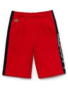 lacoste-sports-boys-logo-jersey-short-red