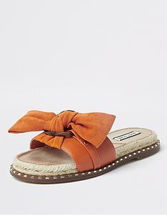 river-island-espadrille-bow-sandals-orange