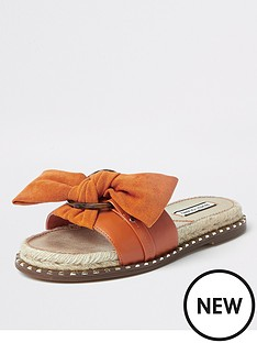 river-island-espadrille-bow-sandals-orange