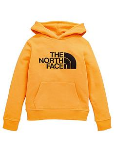 the-north-face-drew-peak-pullover-hoodie-sweatshirt-gold