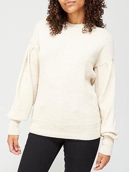 v-by-very-crew-neck-dropped-shoulder-jumper-oatmeal