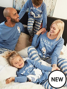 disney-frozen-mens-family-christmasnbspfrozen-pj-bluegrey