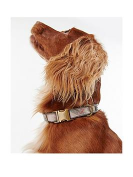 barbour-reflective-pink-tartan-dog-collarnbsp--large