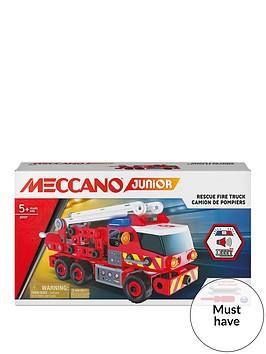 meccano-jr-fire-truck