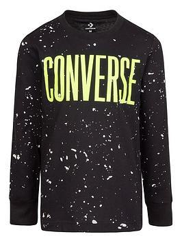 converse-converse-younger-boynbspsplatter-print-long-sleeve-t-shirt-black
