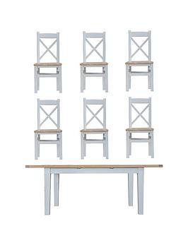 k-interiors-harrownbsp160-210-cm-extending-dining-table-nbsp6-chairs-greyoak