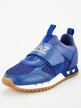 ea7-emporio-armani-boys-logo-strap-trainer-blue