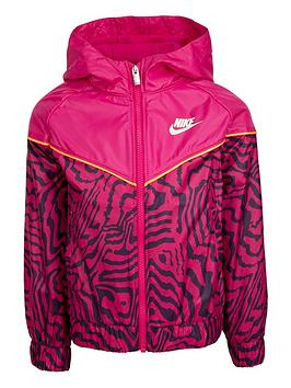 nike-younger-girls-printed-full-zip-windrunner-jacket-purple