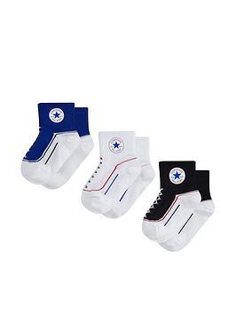 converse-younger-3-packnbspchuck-infant-toddler-quarter-socks-blue